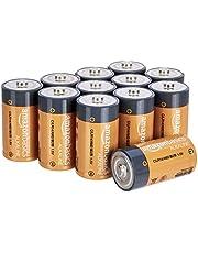 AmazonBasics C Cell 1.5 Volt Everyday Alkaline Batteries