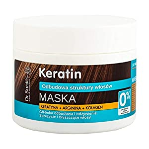 Dr. Santé – Keratin – Hair MASK with keratin, arginine and collagen for brittle and dull hair 300ml