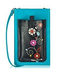 ESPE Vine iSmart, Canadian-Designed, Vegan Long Wallet | Choose from 3 Colours (Vine iSmart -Black)