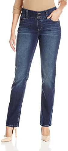 Riders by Lee Indigo Women's Waist Smoother Straight-Leg Jean