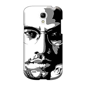 Shockproof Hard Phone Covers For Samsung Galaxy S4 Mini With Custom Fashion Malcolm X Image CharlesPoirier