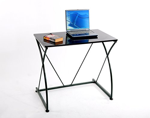 GreenForest Furniture Home Office Compact Computer Desk, Esp