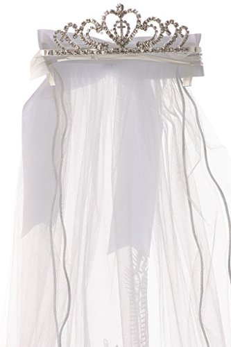 Ivory First Communion Veil - 7