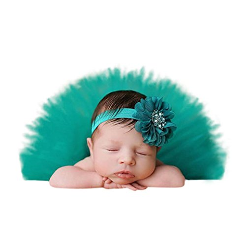Fabal Toddler Baby Newborn 0-4 Months Lace Set Clothes Photo Prop Anniversary Outfits (0-4Month, (Old Halloween Costume Pictures)