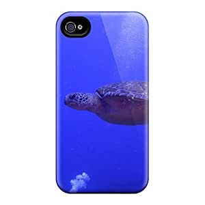 High-end Case Cover Protector For Iphone 4/4s(amazing Ocean Turtle)