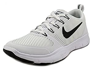 Nike Men's Free Train Versatility TB White/Black-Black Ankle-High Training Shoes - 12M