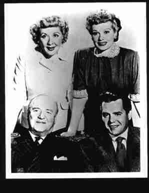Photo Lucille Ball & Cast of I love Lucy