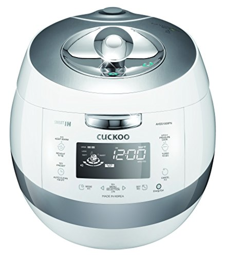 Cuckoo Electric Induction Heating Pressure Rice Cooker CRP-AHSS1009FN (White)
