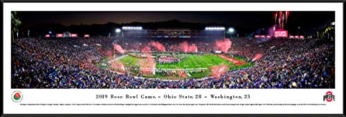 2019 Rose Bowl Champions - Ohio State - Standard Framed Picture by Blakeway Panoramas ()