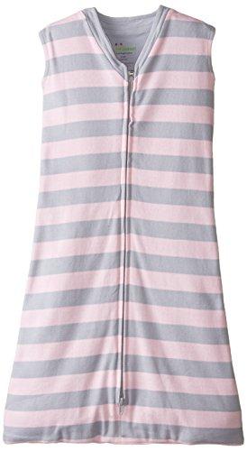 UPC 841000102680, New Jammies Baby-Girls Newborn Organic Sleep Sack Stripes, Pink, 3-6 Months