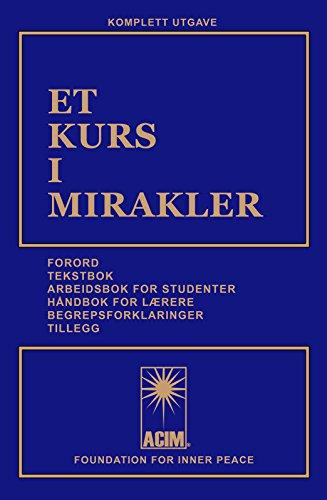 ET KURS I MIRAKLER (Norwegian Edition) (Ta Som)
