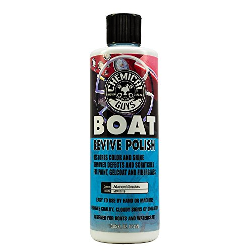 Boat Wax Polish (Chemical Guys MBW11016 Marine and Boat Revive Polish (16 oz))