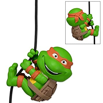 NECA - Figura Tortues Ninja - Escaladores Michelangelo 5 cm ...