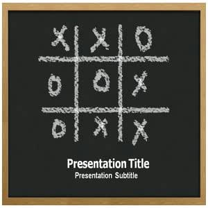 Tic Tac Toe PowerPoint Templates - Tic Tac Toe Powerpoint (PPT) Slide