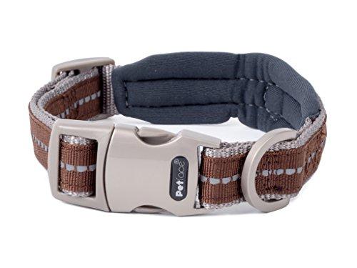 (Petface Signature   Padded Dog Collars, Dog Leashes & Dog Harnesses   Soft Neoprene Padding   Reflective Strip, Improved Night Visibility   Various Sizes)