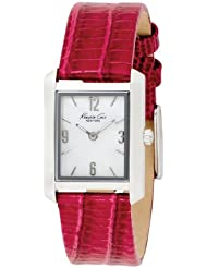 Kenneth Cole Womens KC2564 Analog Quartz Leather Strap Watch