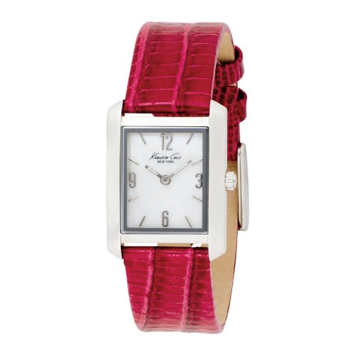 Kenneth Cole Women's KC2564 Analog Quartz Leather Strap Watch