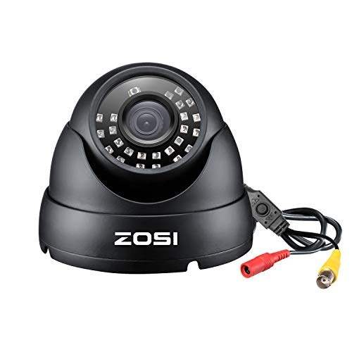 Cheap ZOSI 2.0MP FHD 1080p Dome Camera Housing Outdoor Indoor (Hybrid 4-in-1 CVI/TVI/AHD/960H Analog CVBS),24PCS LEDs,65ft IR Night Vision,CCTV Security Camera with 105° Wide Angle zosi camera
