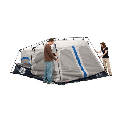 Coleman 10 Person Instant Tent : Coleman instant person tent blue feet camping