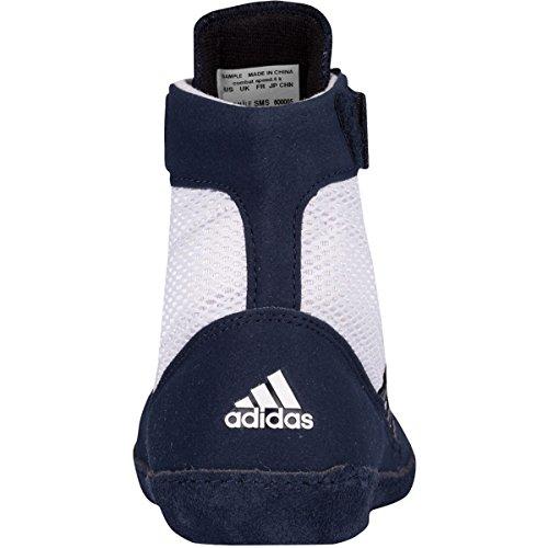 Adidas velocidad Combat 4 Tamaño de lucha Zapatos de jóvenes Bahía Azul / cal 1,5 blanco y azul