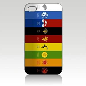 Game of Thrones a Song of Ice and Fire Hard Case Skin for Iphone 5 At&t Sprint Verizon Retail Packaging wangjiang maoyi