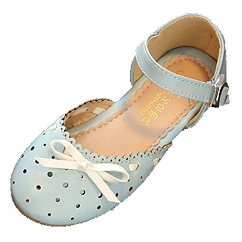 OHmais Kinder Mädchen Flach Freizeit Sandalen Sandaletten Kleinkinder Mädchen Halbschuhe Sandalette Ballerinas f2ISO7