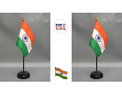 Indians Tall Team Flag - Made in The USA. 2 India Rayon 4