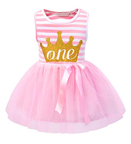 HenzWorld Baby 1st Birthday Party Dress Tutu Skirt