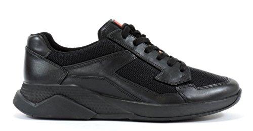 Prada Mens 4E2816 Leather Sneaker K5ypX
