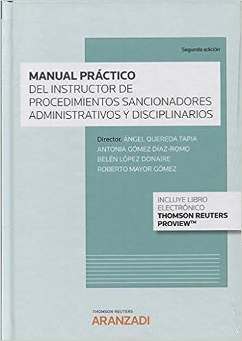Manual práctico del instructor de los procedimientos sancionadores administrativos y disciplinarios Papel + e-book Gran Tratado: Amazon.es: Antonia Gómez ...