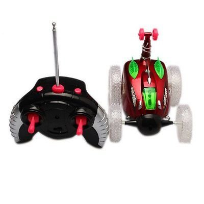 Shalleen Stunt Gyro Car 360 Spin Remote Control Car Multi Colour Flashing With LED Lights - Turbo Twister Slide