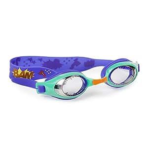 Swimming Goggles For Boys - Super Hero Kids Swim Goggles By Bling2o (Super Hero Green)
