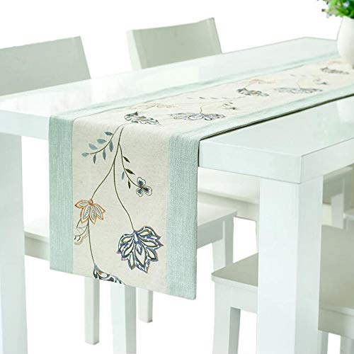 Jcnfa-table runner Polyester Decoration Dining Table Tea Table TV Cabinet Rectangular, Tablecloth Bed Towel (Color : A, Size : 35200cm)