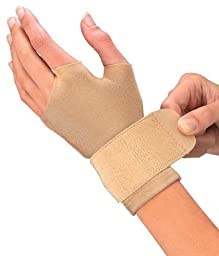 Mueller Compression / Arthritis / Carpal Tunnel Gloves, 2 gloves/pack, Medium 7.5-8.5\