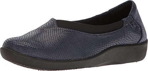 clarks-womens-sillian-jetay-navy-snake-print-loafer