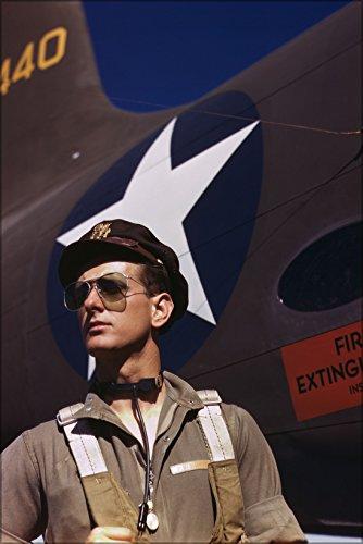 24x36 Poster; F.W. Hunter, Army Test Pilot, Douglas Aircraft