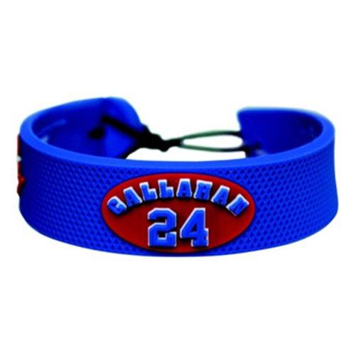 Ryan Callahan Rangers - NHL New York Rangers Ryan Callahan Team Color Jersey Bracelet