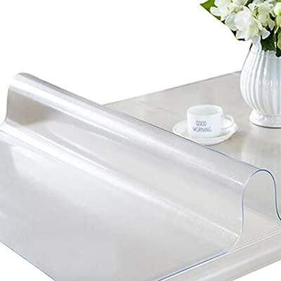 ZKOO Manteles PVC Suave Cristal Impermeable Mantel Transparente ...