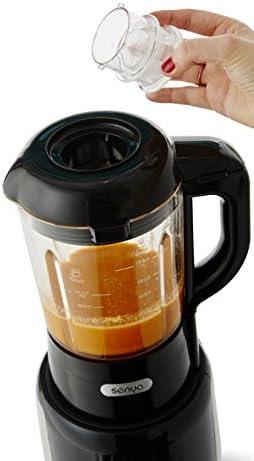 Senya Master Cook licuadora calefacción táctil negro 1800 W: Amazon.es: Hogar