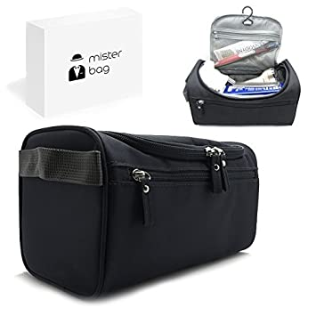 7a5dbca8d64d Hanging Travel Toiletry Bag For Men or Women Waterproof Perfect For Grooming  Shaving Dopp Kit.