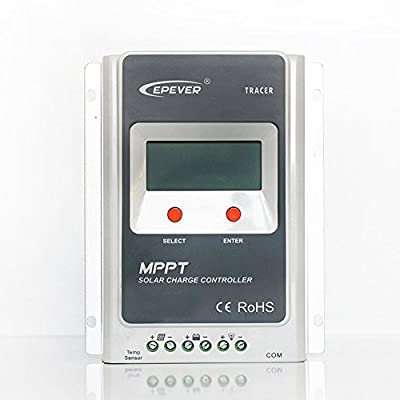 EPEVER Solar Charge Controller 100V PV MPPT 10A Control Tracer A with LCD Display