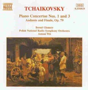 Tschaikowsky: Klavierkonzert 1 und 3 Wit