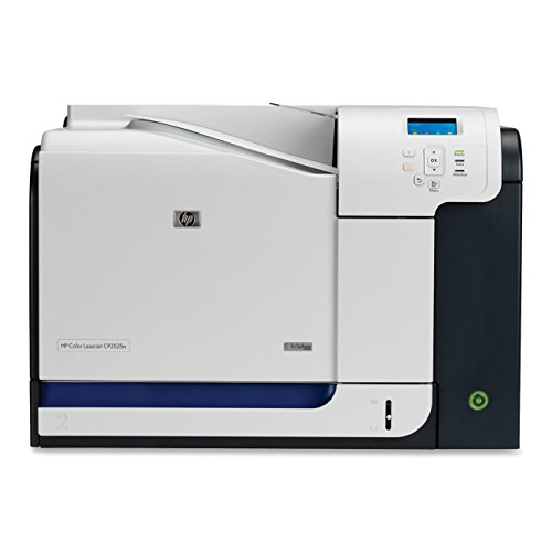 (Renewed HP Color LaserJet CP3525N CP3525 CC469A Laser Printer with toner & 90-day Warranty CRHPCP3525N)