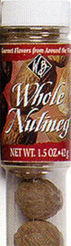 William Bounds 06300 1.5 Ounce Whole Nutmeg by William Bounds