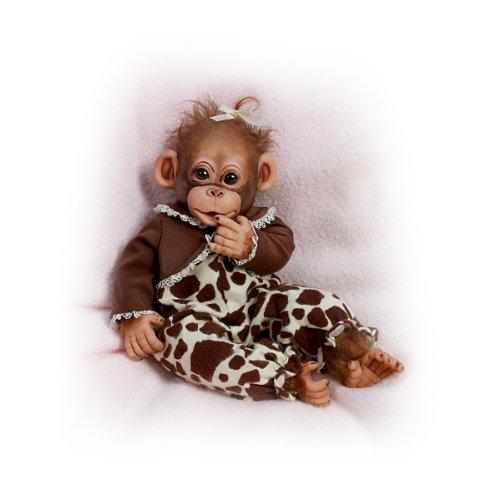 Ashton Drake Lifelike Chimpanzee Adoption Certificate