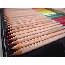 Icarekit 36 Colors Premier Water Solubility Art Colored Drawing Pencils for Artist Sketch/Adult Secret Garden Coloring Book/ Kids Artist Writing/ Manga Artwork