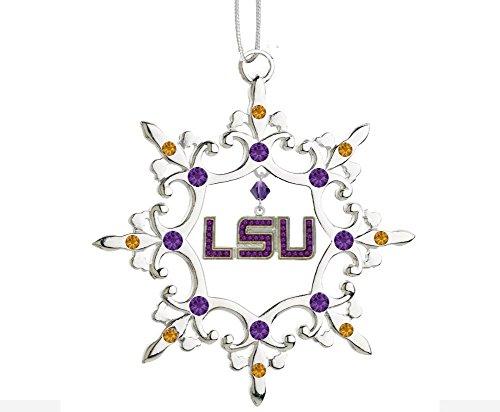 (Final Touch Gifts Louisiana State University LSU Christmas Ornament)