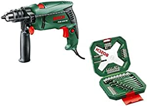 Bosch Hammer Drill [PSB 530 RE] With Bosch 48 Piece X-line Drill And Drive Set