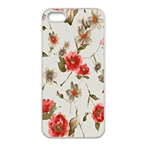 iPhone 5, 5S Phone Case Floral Pattern H6G5549317