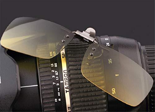 para Gafas de conducción Aire miopía al Green el Bueno Unisex Clip Pesca Gris Gafas XIYANG Clip de Estilo Libre para de Sol polarizado T77zHO